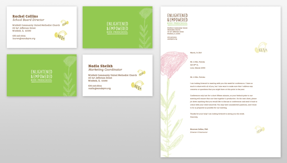 business cards and letterhead2